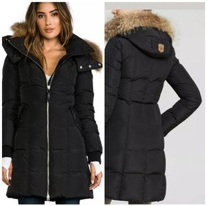 Mackage Eileen lavish fur parka black xs